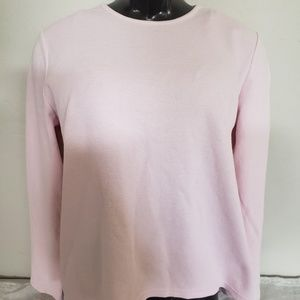 Cato pink long sleeved thermal style XL top
